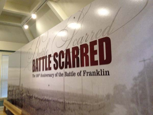 Battle Scarred exhibit takes viewers inside Franklin battle