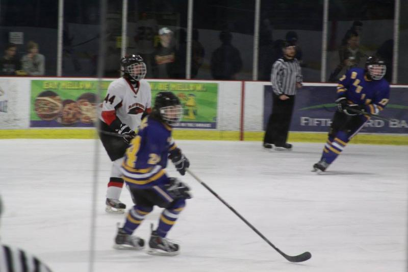 Brentwood suffers OT defeat in hockey championship