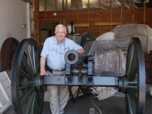 Loaned Civil War cannon to be show piece at Heritage Ball