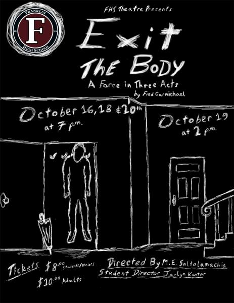 Franklin High School Theatre puts on 'Exit the Body' for fall production