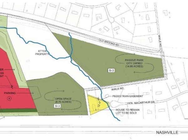 City may hire architect for new Mallory-area park
