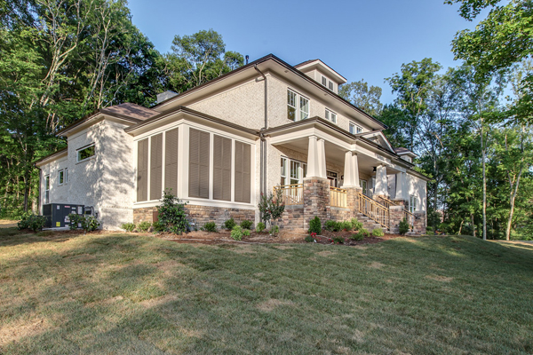 King 39 s chapel custom home shows off american craftsman for American custom homes