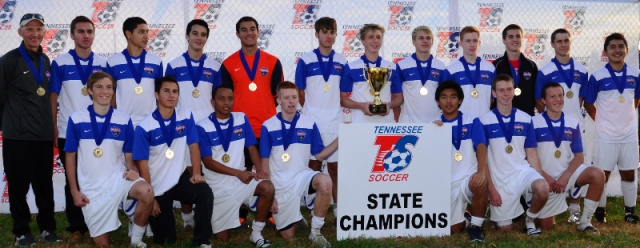 4 TN Soccer Club teams win state