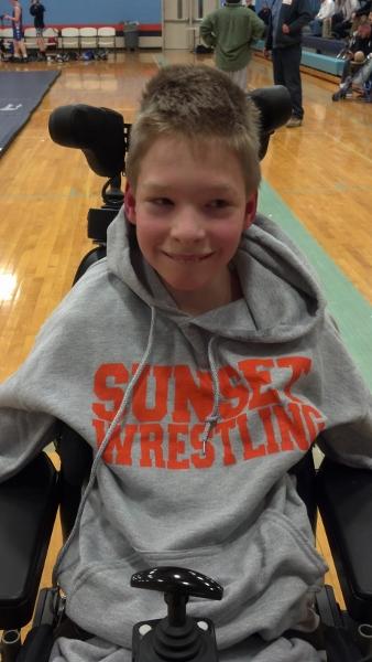 Sunset-Freedom video of inspiring wrestler goes viral