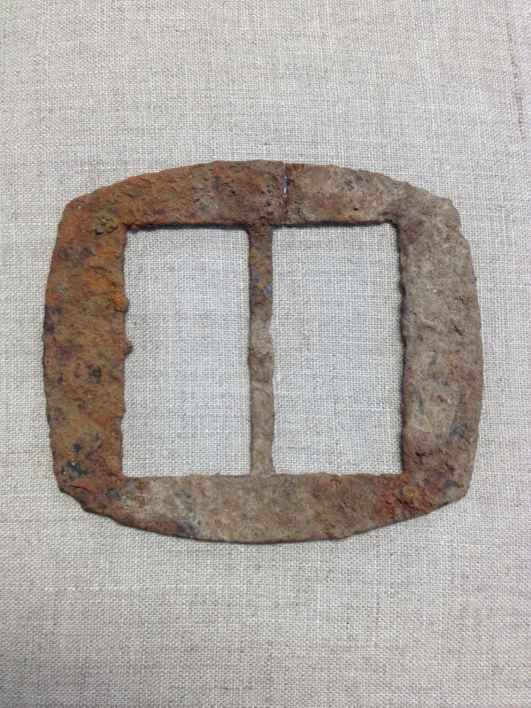 Confederate belt buckle found at The Carter House