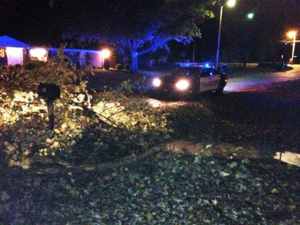 Fierce winds give way to sunny morning; share pics of damage