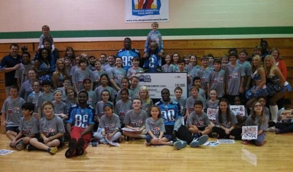 NFL Play 60 program brings Titans to Lipscomb