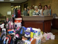 Realtors go shopping for back to school