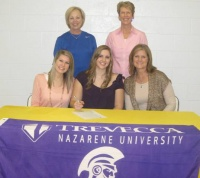 Brentwood's Hearne signs with Trevecca volleyball
