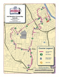 Flatter, faster course for Women's Half Marathon