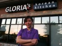 Gloria knows her way around Korean kitchen