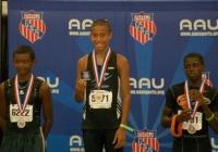 Franklin athlete wins gold at Jr. Olympics