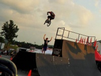 BMX team thrills at Williamson County Fair