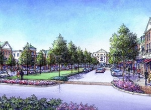 Construction at Berry Farms development under way