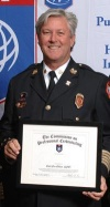 Fire chief receives professional designation
