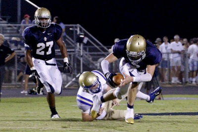 Independence falls to Brentwood 51-10