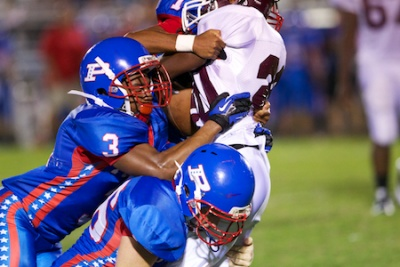 Page rolls over Spring Hill 48-6