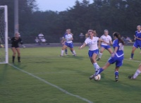 BGA stays close to BHS soccer for a half