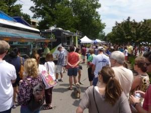 Food trucks returning to Town Center Saturday