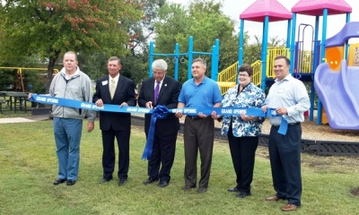 City's smallest park's big redo celebrated