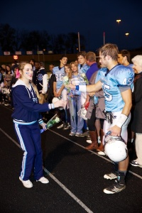 PHOTOS: CHS celebrates football, band, cheer seniors