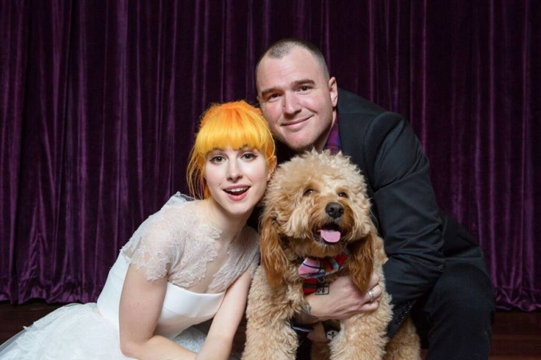 Hayley Williams marries in Downtown Franklin