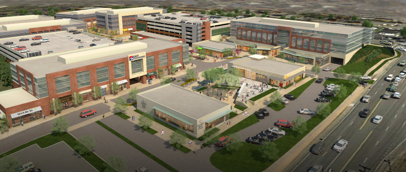 Restaurants, retail, parking garage will be first to appear at Hill Center