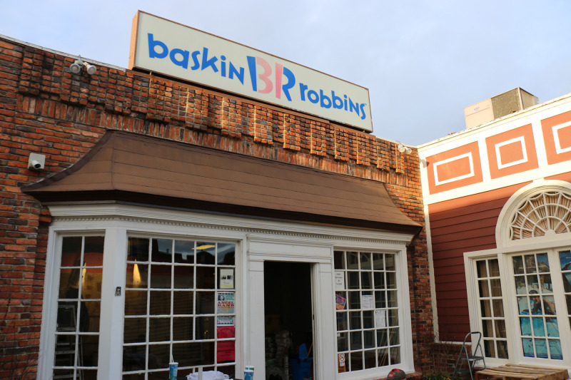 Downtown Baskin Robbins to re-open first week in January