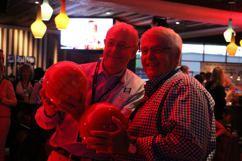 SCENE AND HEARD: Celebrity bowlers raise money for High Hopes