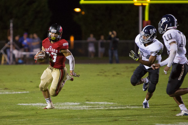 Ravenwood runs through Siegel in season opener