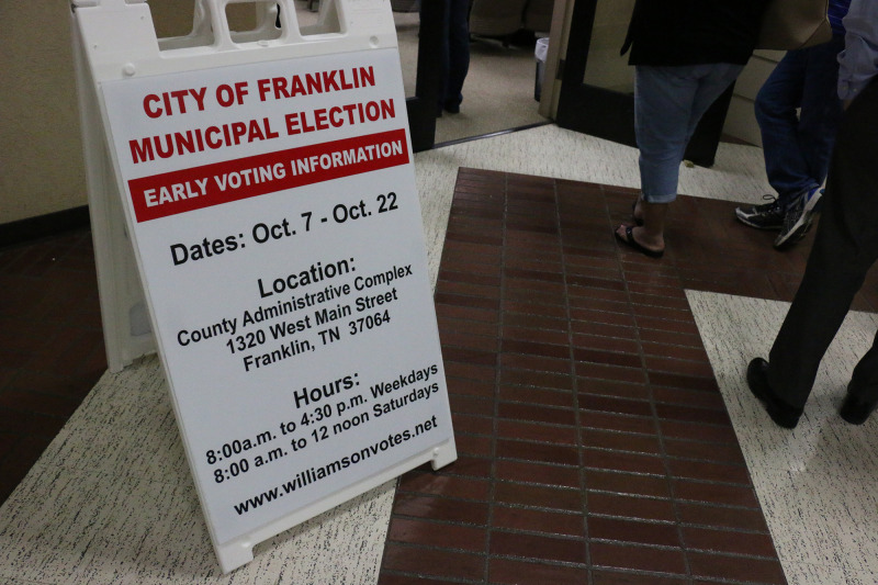 Today is the last day to vote for aldermen, mayor
