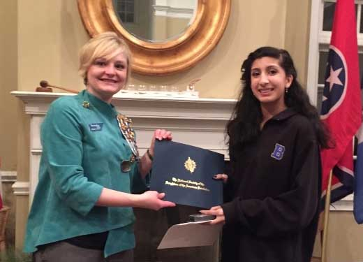 Brentwood Middle student wins DAR history essay award - Brentwood ...