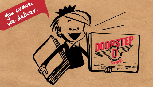 Doorstep Delivery brings restaurant meals straight to customer