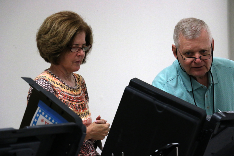 Williamson early voting turnout down compared to 2014