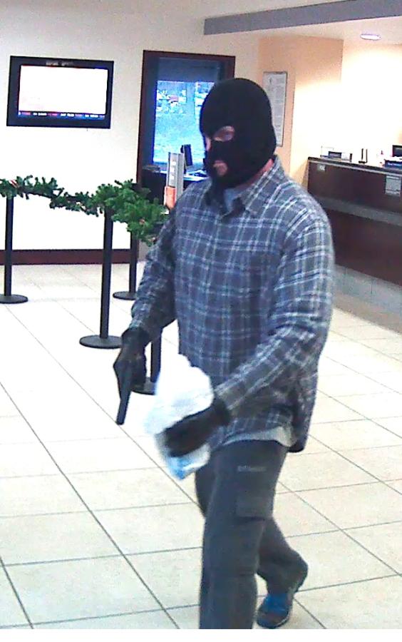 Franklin Police, FBI looking for SunTrust bank robber