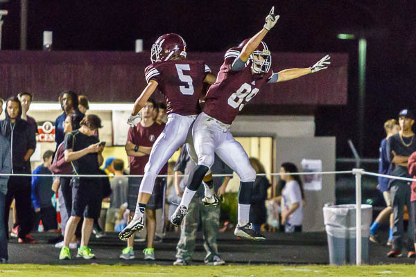 Late TD pass sends Franklin past McGavock