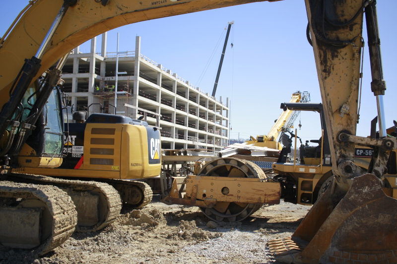 Hill Center starts construction on second of 10 buildings