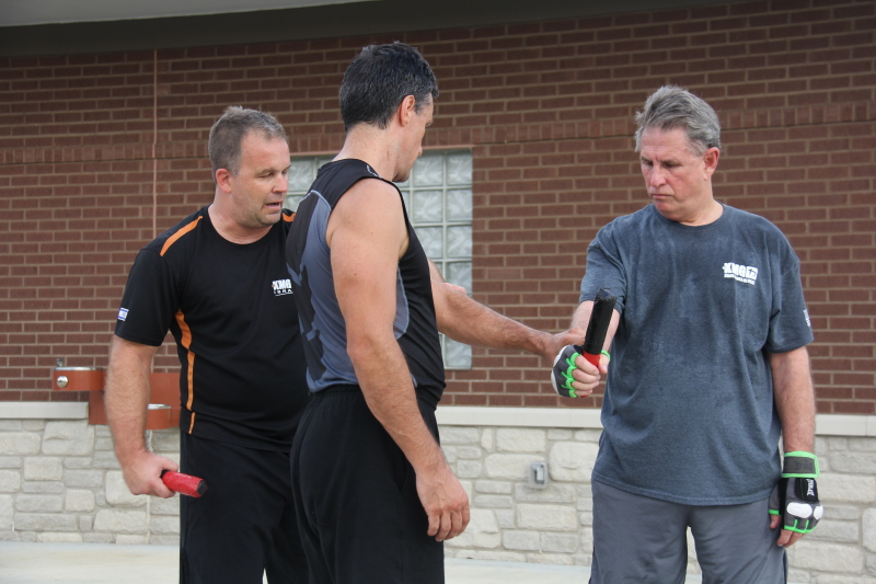 Locals learn to fight back against mass shootings, attackers with Krav Maga