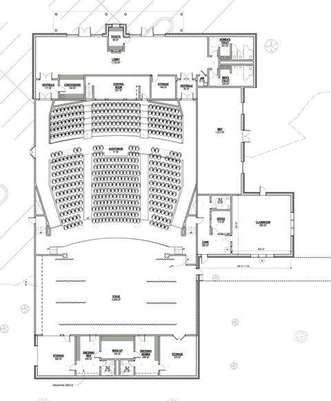 'Very preliminary' plans for CHS theater revealed ...