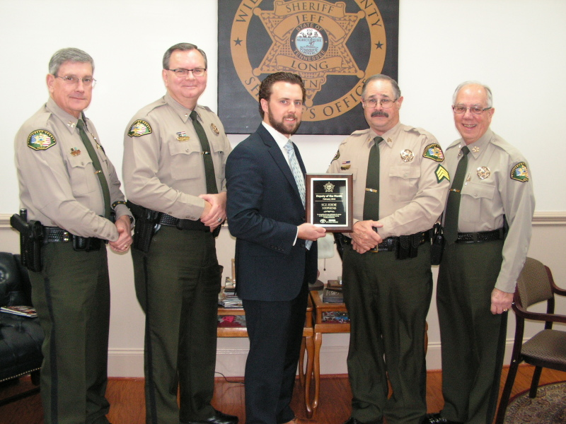 31-year Sheriff's Office veteran named Deputy of the Month