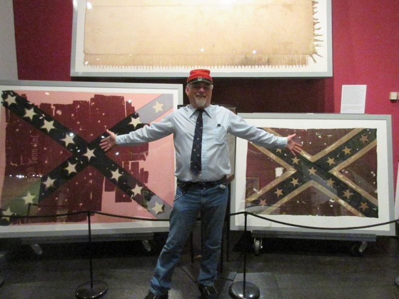 Mangrum to present program on Tennessee battle flags at Historical Society
