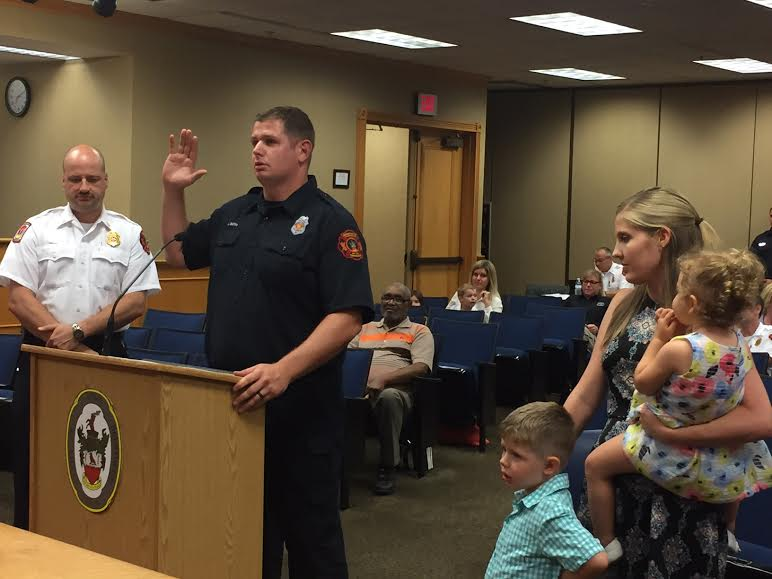 New Brentwood firefighters have extensive training, experience
