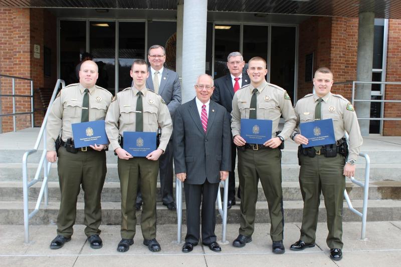 Four Sheriff deputies graduate from Law Enforcement Training Academy