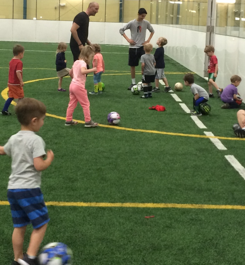 Sign your toddler up for Tiny Tots soccer at Williamson Parks and Rec