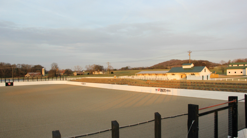 Park at Harlinsdale new arena to open in April