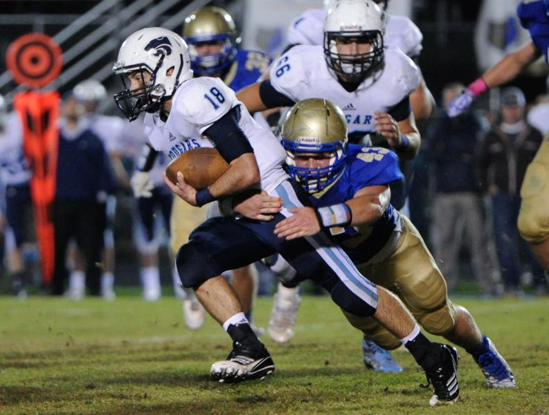 Centennial hangs on for win against Brentwood