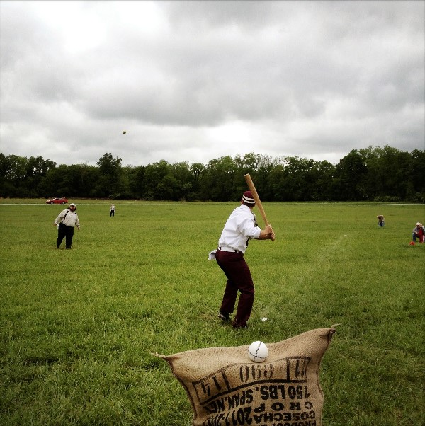 Vintage Base Ball season begins at Carnton Plantation