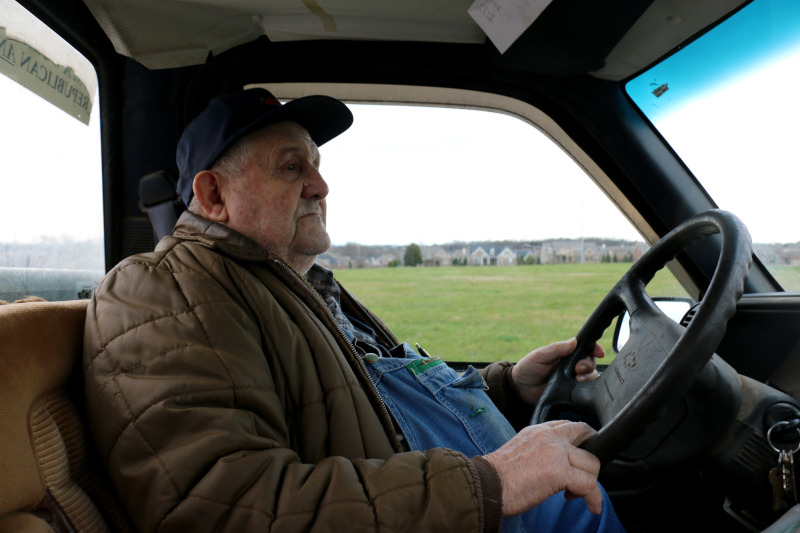 Surrounded by suburbia, John Williams still works his 1799 farm