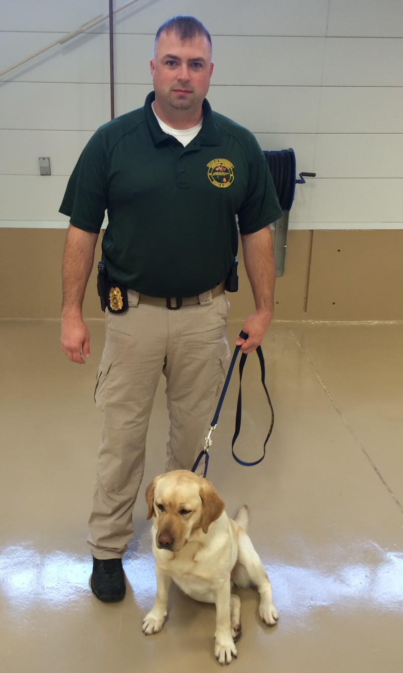 State Fire Marshal adds arson-detecting dog team to Middle Tennessee region