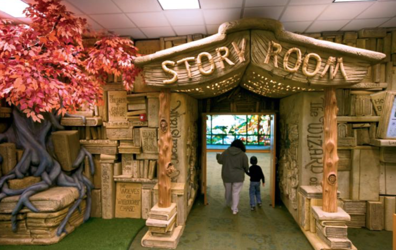 Library S Children S Section Named Most Magical By